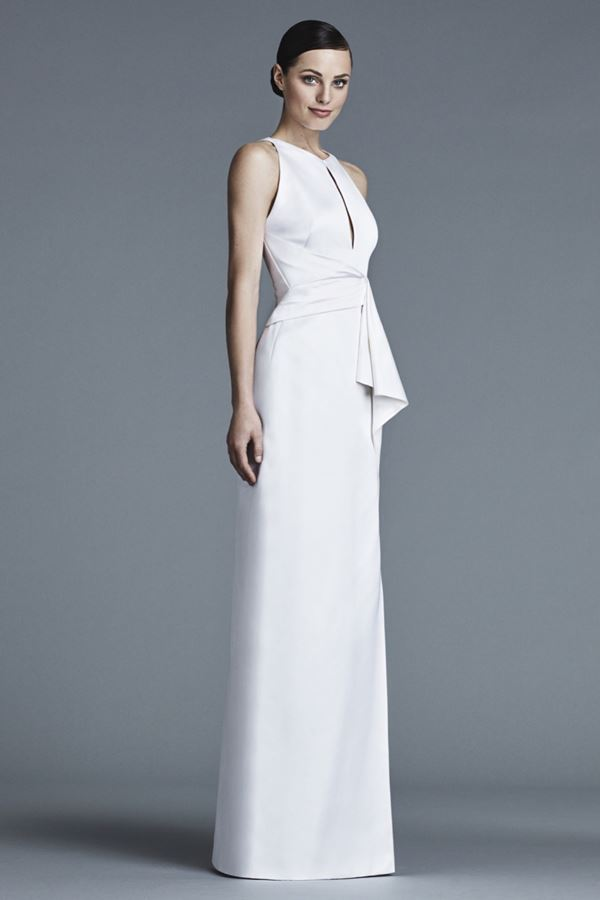 Шелковые свадебные платья 2015-2016 J. Mendel