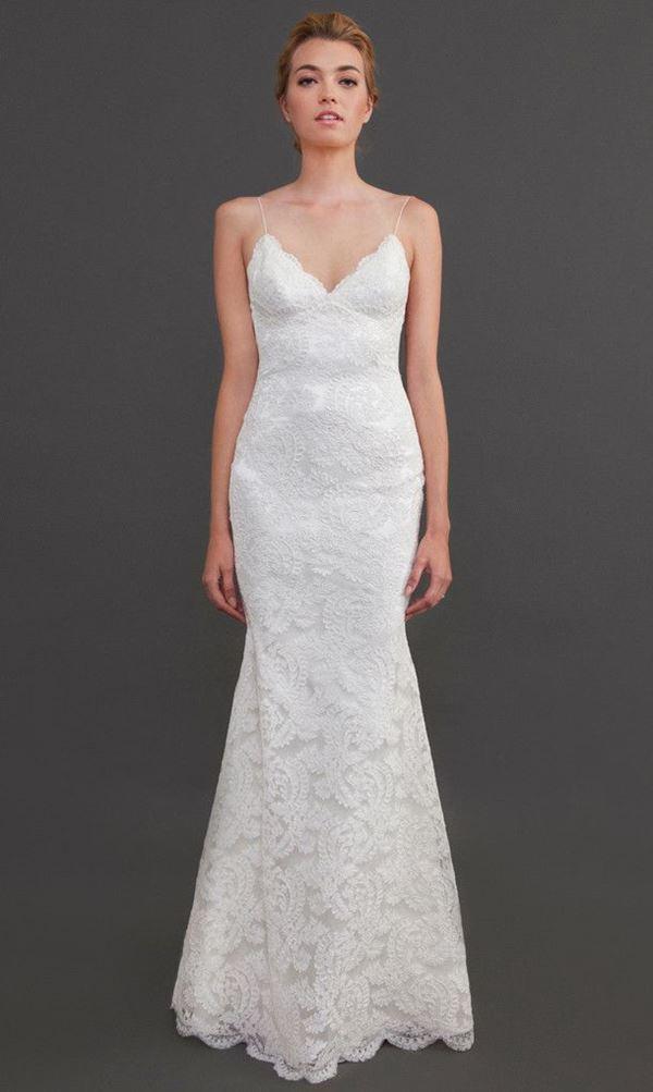 Простые и элегантные свадебные платья 2015-2016 Katie May