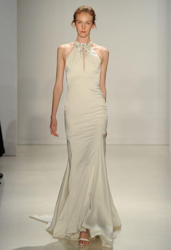 Простые и элегантные свадебные платья 2015-2016 Kenneth Pool