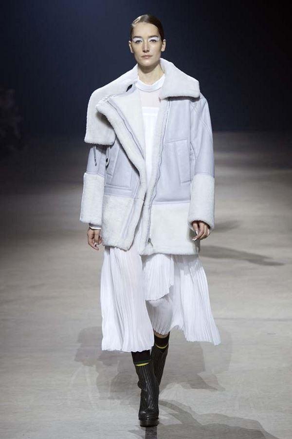 Модные дубленки осень-зима 2015-2016 Kenzo