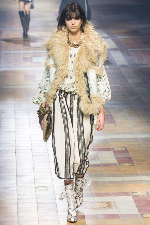 Модные дубленки осень-зима 2015-2016 Lanvin