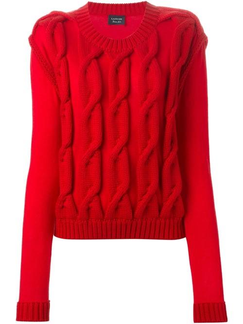 Ирландские свитера осень-зима 2015-2016 Lanvin