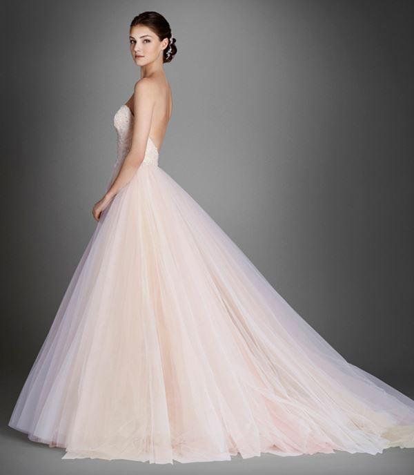 Пышные свадебные платья «принцесса» 2015-2016 Lazaro