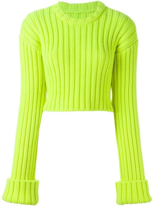 Короткие свитера осень-зима 2015-2016 MM6 Maison Margiela