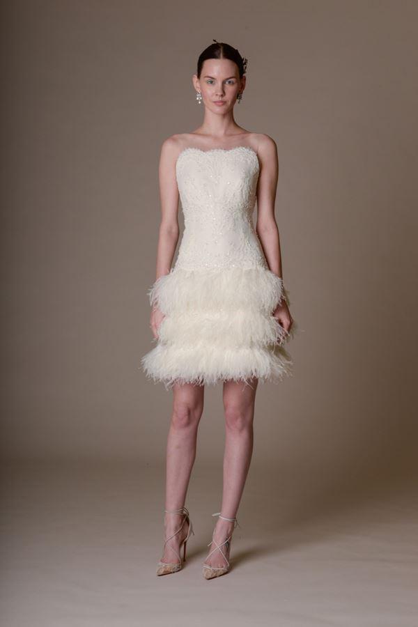 Короткие свадебные платья 2015-2016 Marchesa