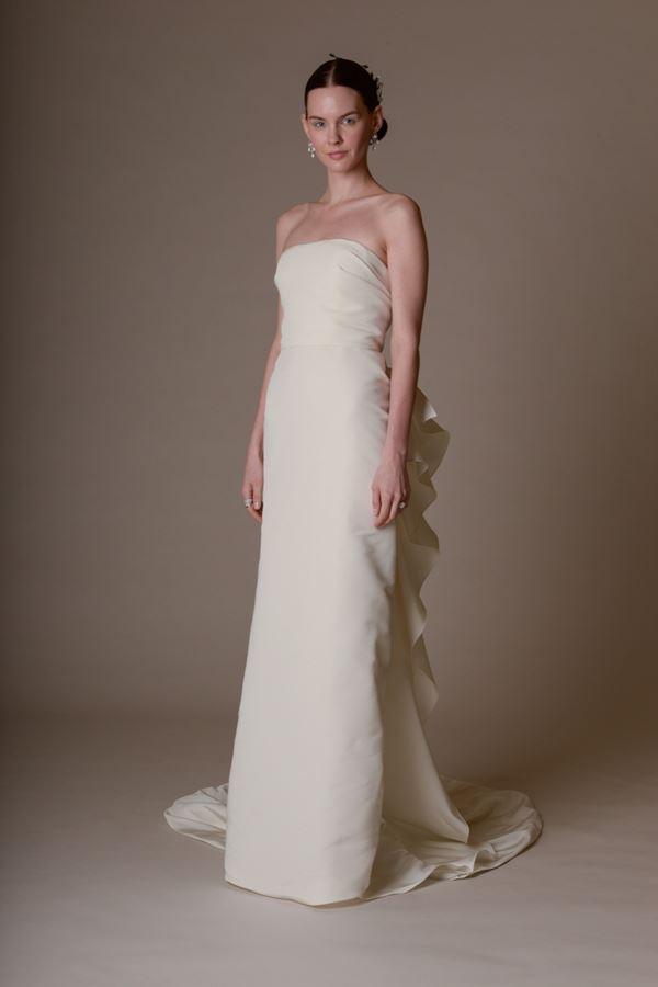 Простые и элегантные свадебные платья 2015-2016 Marchesa