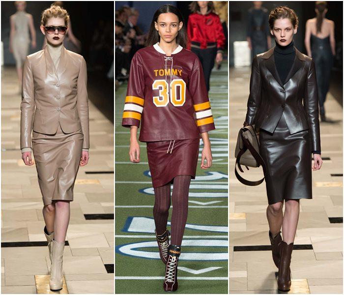 Модные костюмы с юбкой осень-зима 2015-2016  (13)