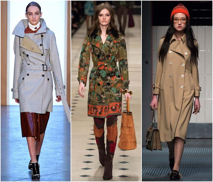 Модные плащи осень-зима 2015-2016  (10)