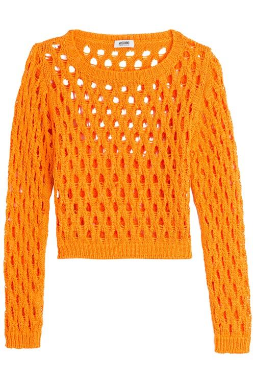 Короткие свитера осень-зима 2015-2016 Moschino Cheap and Chic