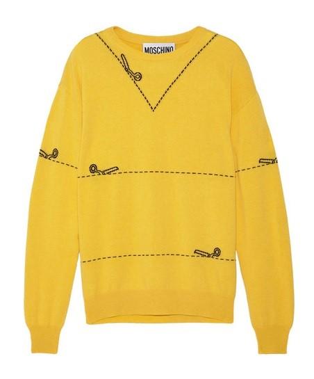 Кашемировые свитера осень-зима 2015-2016 Moschino