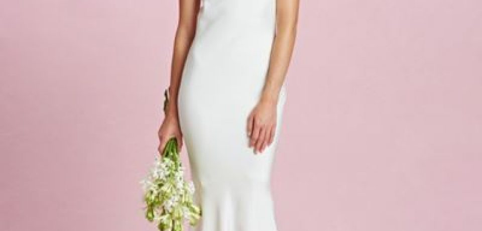 Простые и элегантные свадебные платья 2015-2016
