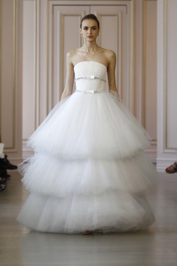 Пышные свадебные платья «принцесса» 2015-2016 Oscar de la Renta