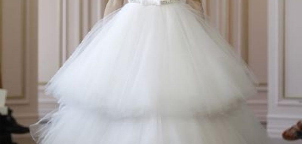 Свадебные платья с тюлевой юбкой 2015-2016
