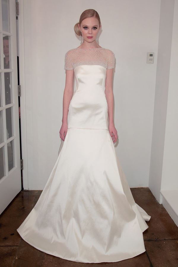 Шелковые свадебные платья 2015-2016 Pamella Roland