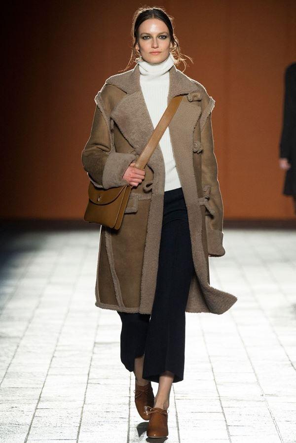 Модные дубленки осень-зима 2015-2016 Paul Smith