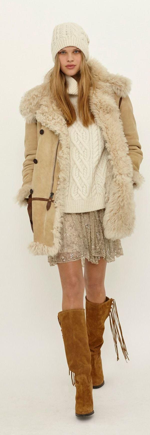 Модные дубленки осень-зима 2015-2016 Polo Ralph Lauren
