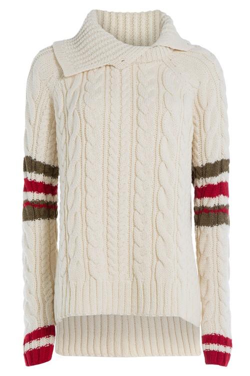 Ирландские свитера осень-зима 2015-2016 Preen by Thornton Bregazzi