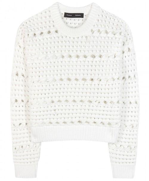 Короткие свитера осень-зима 2015-2016 Proenza Schouler