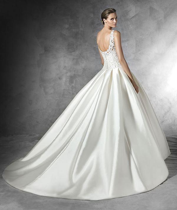 Шелковые свадебные платья 2015-2016 Pronovias