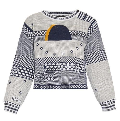 Короткие свитера осень-зима 2015-2016 Rachel Comey