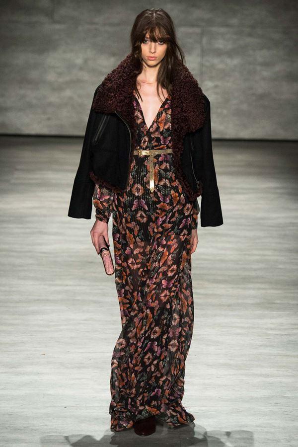 Модные дубленки осень-зима 2015-2016 Rebecca Minkoff