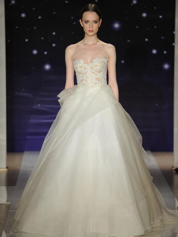 Пышные свадебные платья «принцесса» 2015-2016 Reem Acra