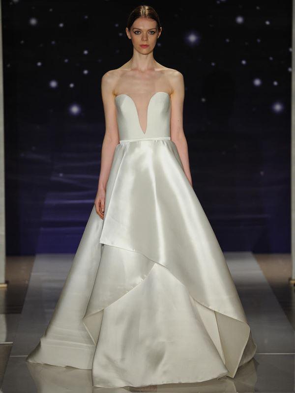 Шелковые свадебные платья 2015-2016 Reem Acra
