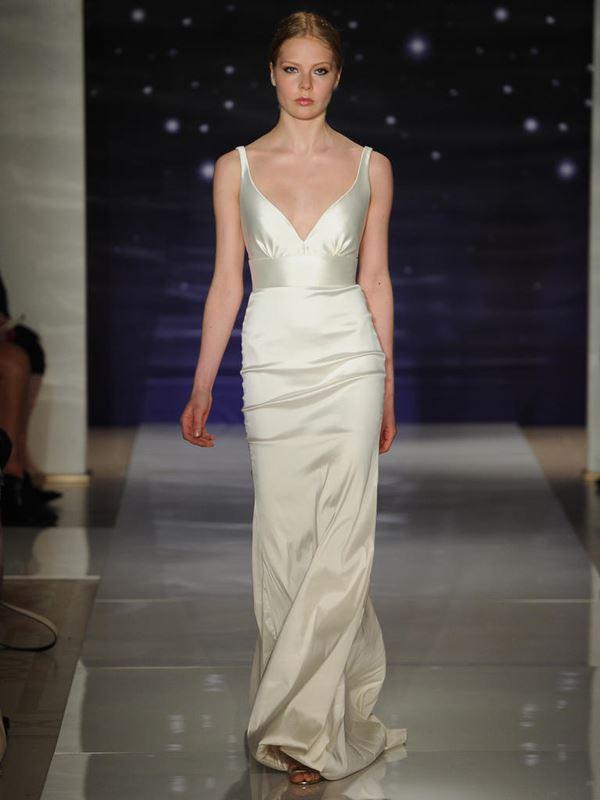 Простые и элегантные свадебные платья 2015-2016 Reem Acra