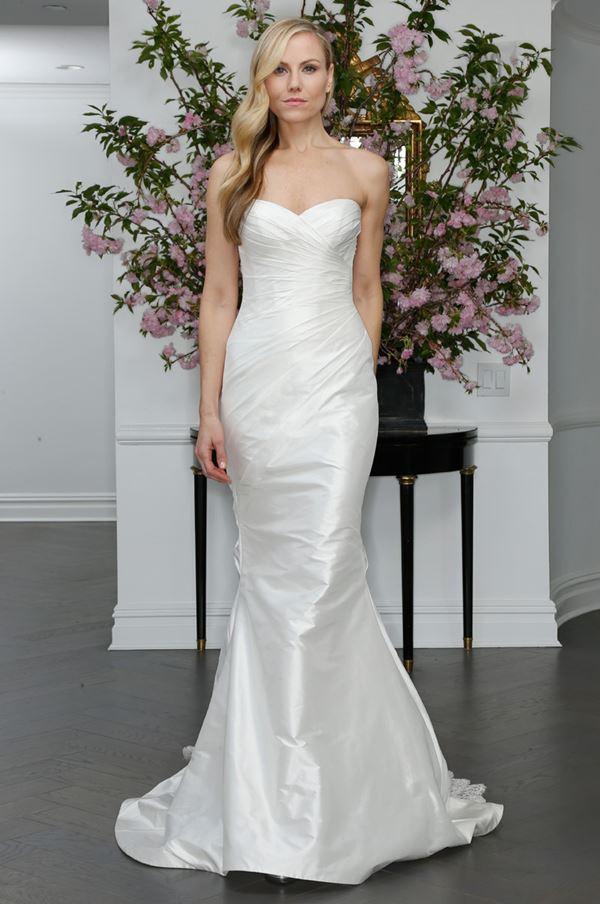 Шелковые свадебные платья 2015-2016 Romona Keveza
