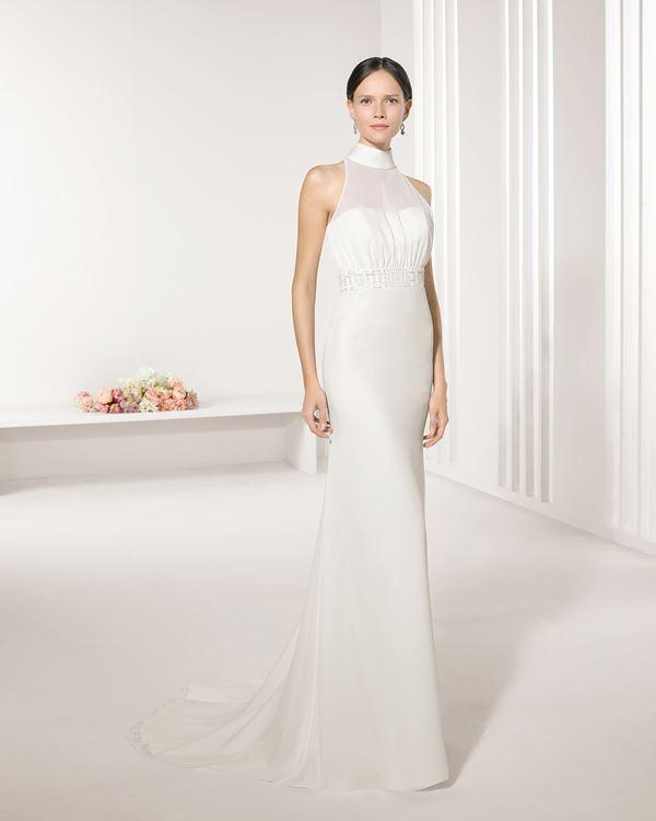 Простые и элегантные свадебные платья 2015-2016 Rosa Clara
