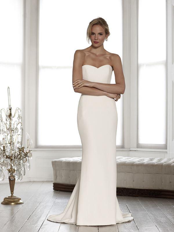 Простые и элегантные свадебные платья 2015-2016 Sassi Holford