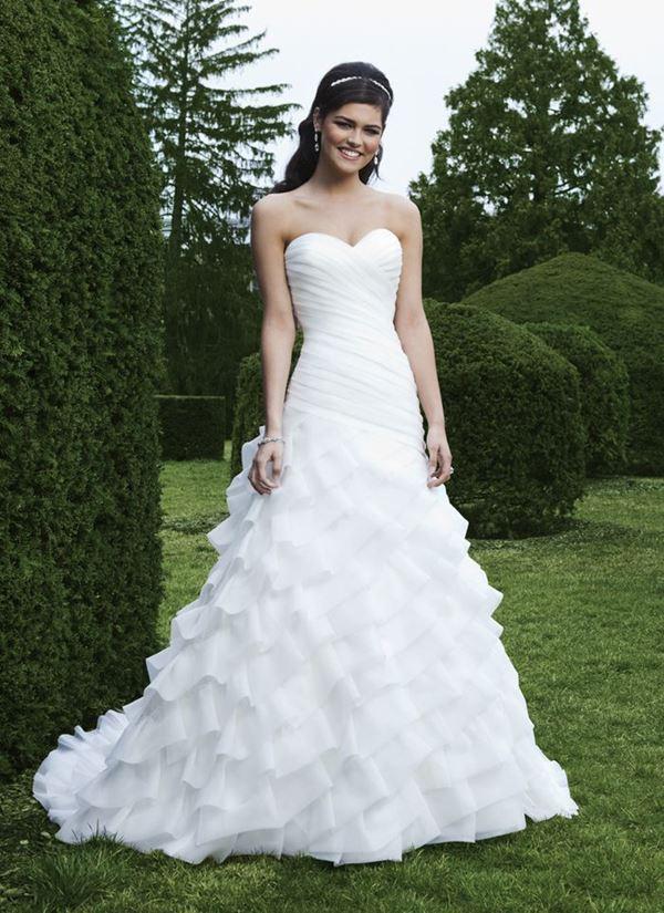 Свадебные платья с воланами 2015-2016 Sincerity Bridal