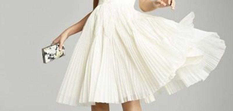 Короткие свадебные платья 2015-2016