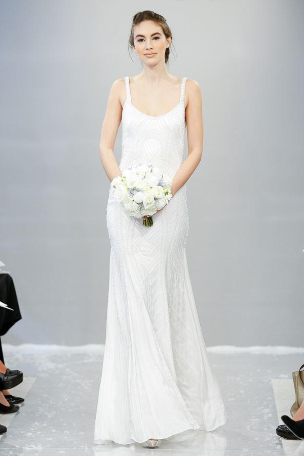 Простые и элегантные свадебные платья 2015-2016 Theia