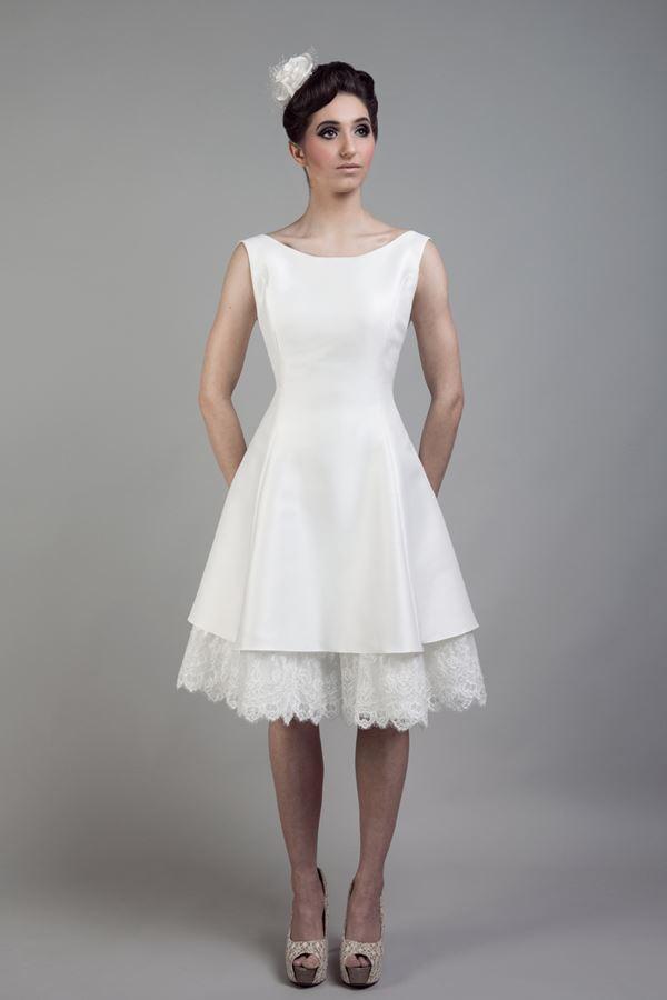 Короткие свадебные платья 2015-2016 Tobi Hannah