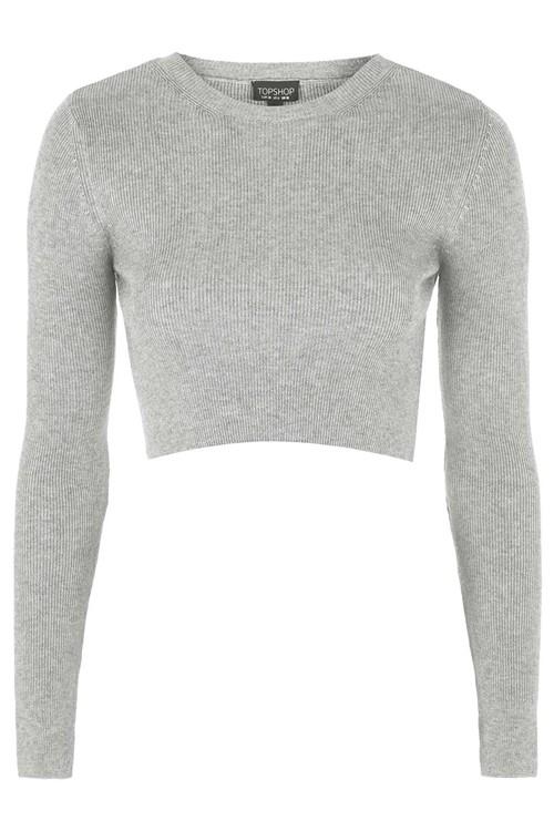 Короткие свитера осень-зима 2015-2016 Topshop