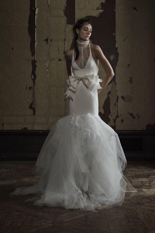 Свадебные платья с тюлевой юбкой 2015-2016 Vera Wang