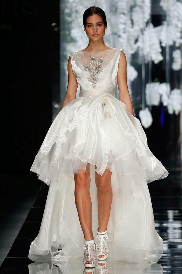Шелковые свадебные платья 2015-2016 Yolan Cris