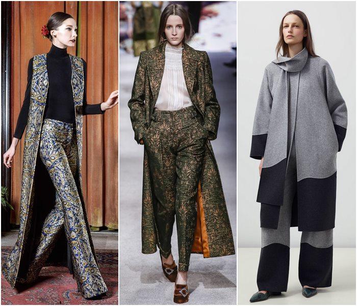 Женские брючные костюмы осень-зима 2015-2016 (6)