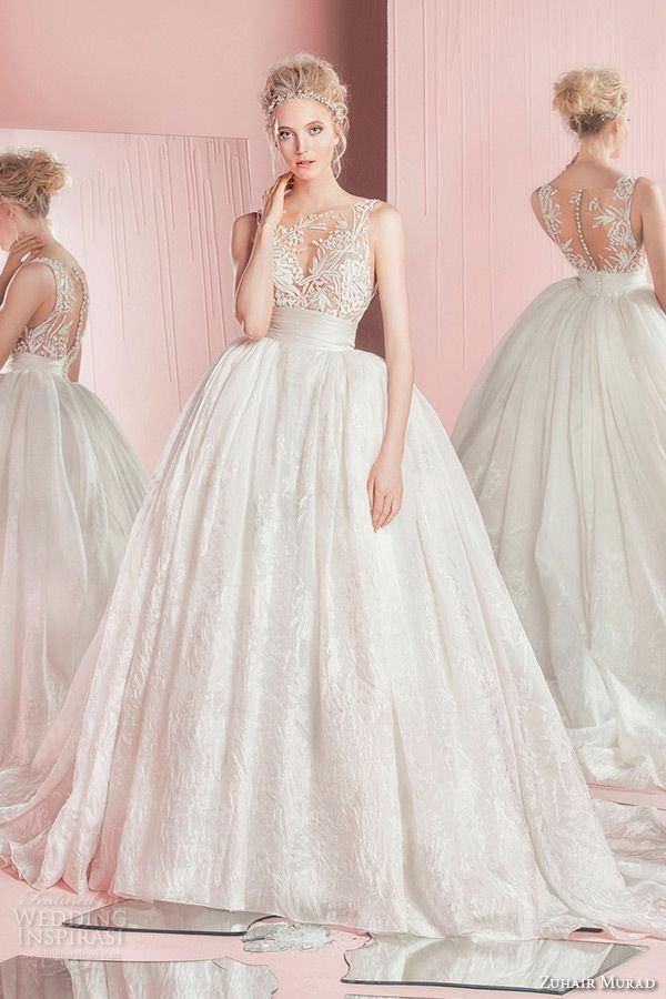 Пышные свадебные платья «принцесса» 2015-2016 Zuhair Murad