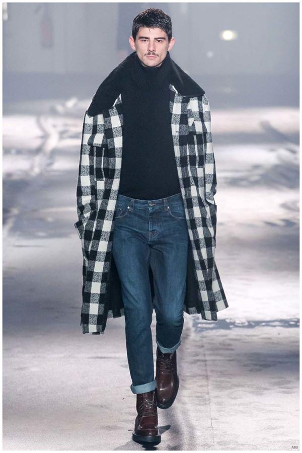 Мужские джинсы осень-зима 2015-2016 AMI
