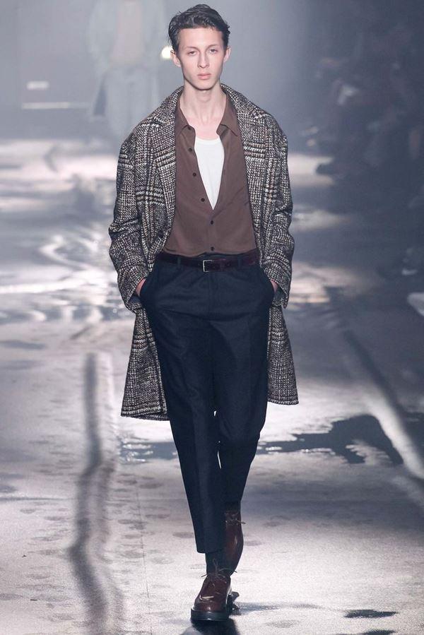 Мужские брюки осень-зима 2015-2016 Ami