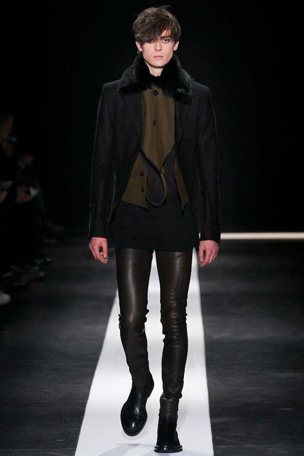 Мужские брюки осень-зима 2015-2016 Ann Demeulemeester