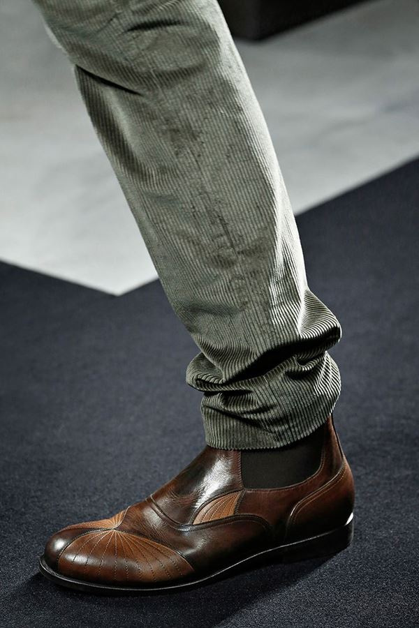 Мужская обувь осень-зима 2015-2016 Bottega Veneta