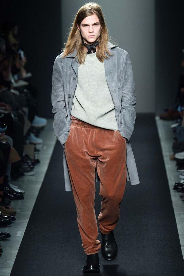 Мужские брюки осень-зима 2015-2016 Bottega Veneta
