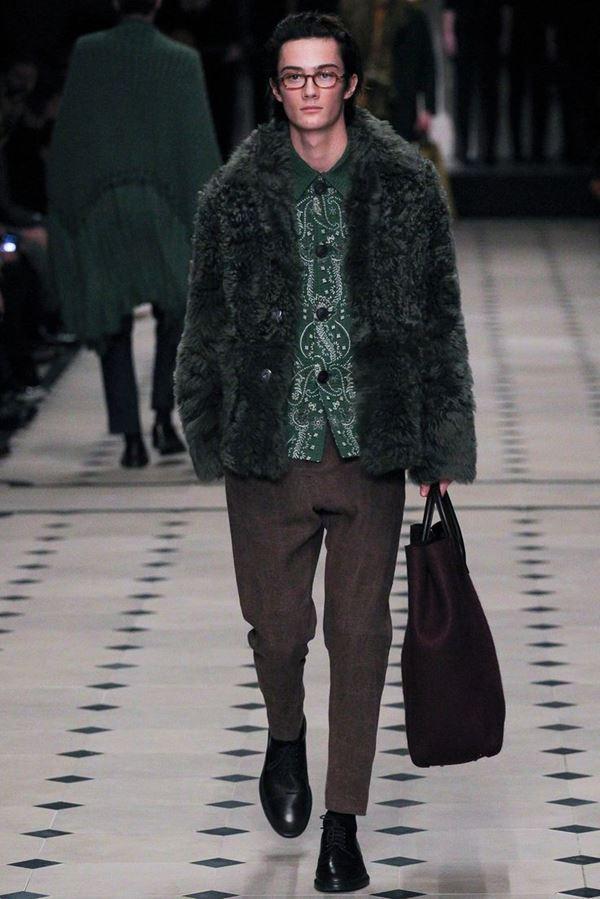 Мужские куртки осень-зима 2015-2016 Burberry Prorsum