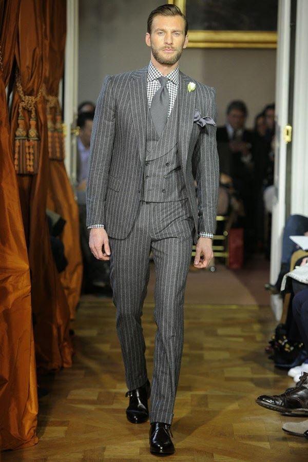 Мужские костюмы осень-зима 2015-2016 Cifonelli