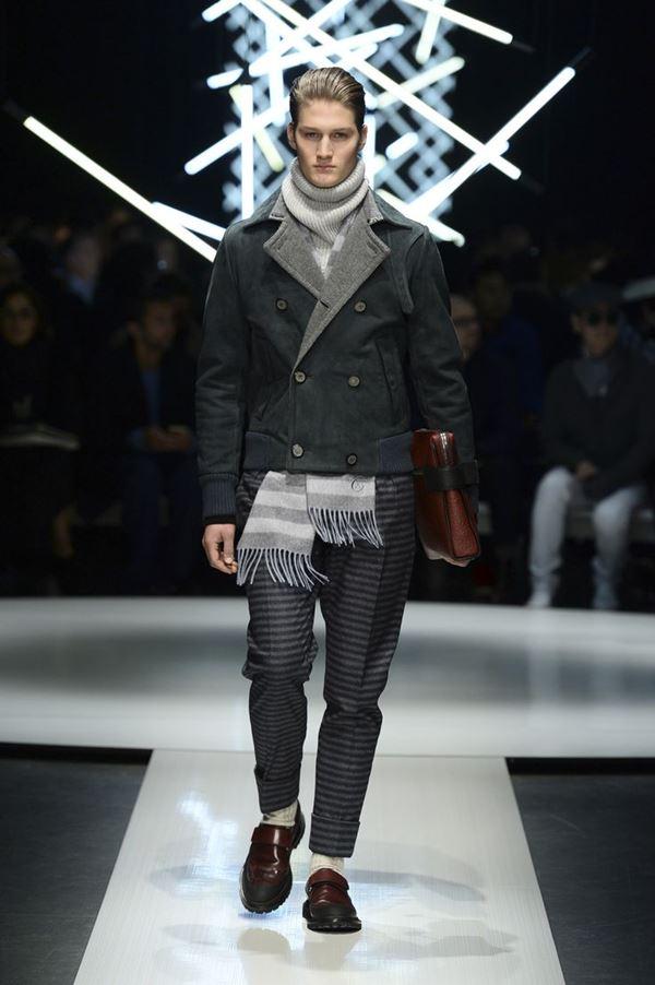 Мужские брюки осень-зима 2015-2016 Canali
