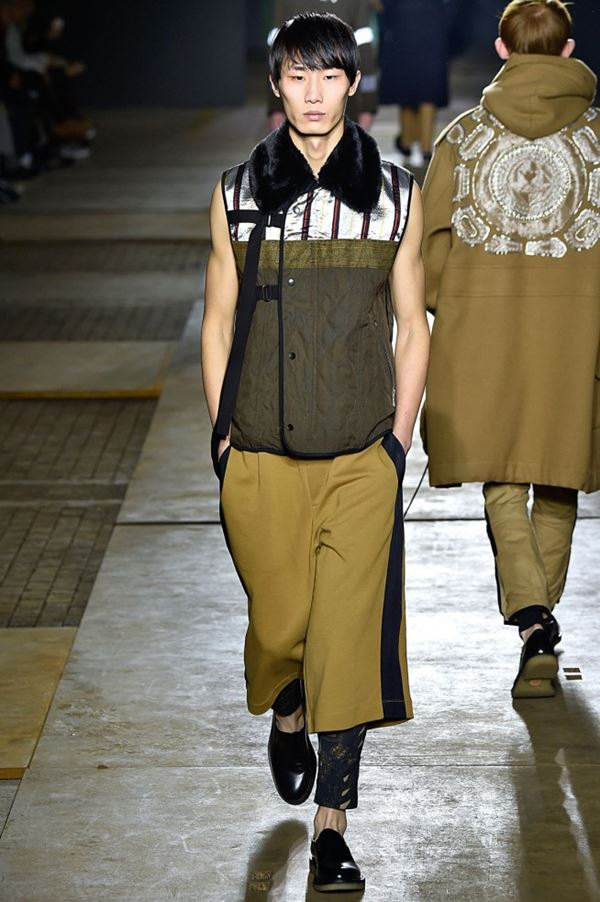 Мужские брюки осень-зима 2015-2016 Dries van Noten