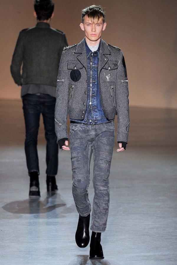 Мужские куртки осень-зима 2015-2016 Diesel Black Gold